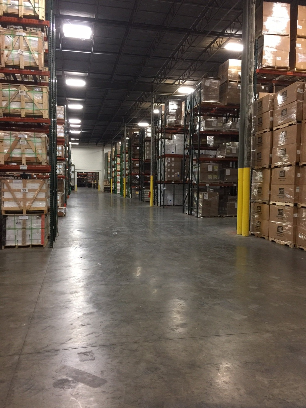 atlanta cross dock warehouse